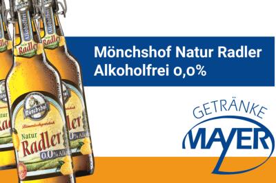 Mönchshof Natur Radler Alkoholfrei 0,0%
