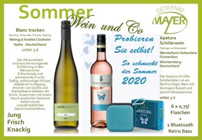 Sommer Wein & Co