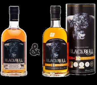 Whisky des Monats Black Bull Duncan Taylor Black Bull Kyloe 50,0 % & Black Bull 12 Jahre Deluxe Blend 50,0 %